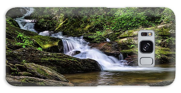Roaring Fork Waterfall Galaxy Case