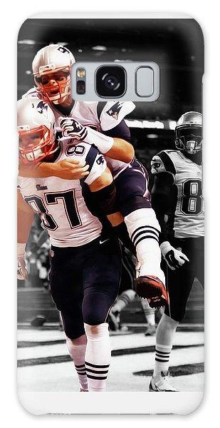 Rob Gronkowski And Tom Brady Galaxy Case