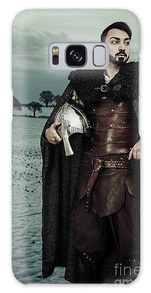 Cosplay Galaxy Case - Robed Viking With Helmet by Amanda Elwell