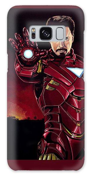 Industry Galaxy Case - Robert Downey Jr. As Iron Man  by Paul Meijering
