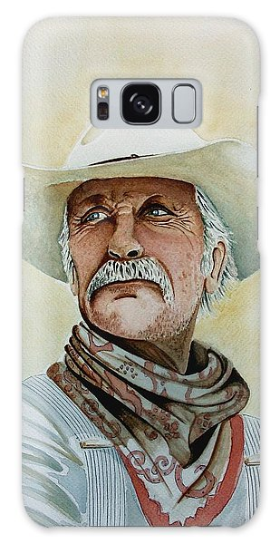 Robert Duvall As Augustus Mccrae In Lonesome Dove Galaxy Case by Jimmy Smith