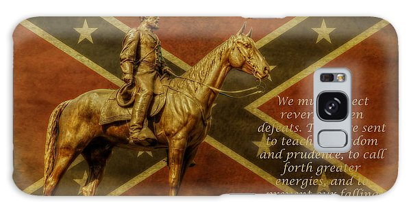 Robert E Lee Inspirational Quote Galaxy Case