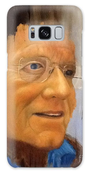 Robert Monk Self Portrait Galaxy Case