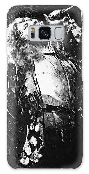 Robert Plant Galaxy Case by Taylan Apukovska