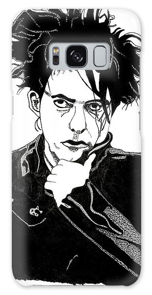 Robert Smith Music Galaxy Case - Robert Smith 1 by Christine Perry