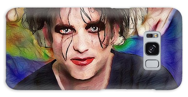 Robert Smith Music Galaxy Case - Robert Smith A Good Soul Large Vers by Robert Radmore