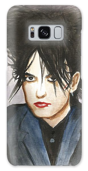 Robert Smith Music Galaxy Case - Robert Smith by Amber Stanford