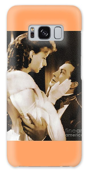 Robert Taylor And Greta Garbo Galaxy Case