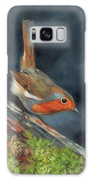 Robin Galaxy Case by David Stribbling