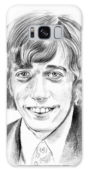 U2 Galaxy Case - Robin Gibb Drawing by Suzann's Art