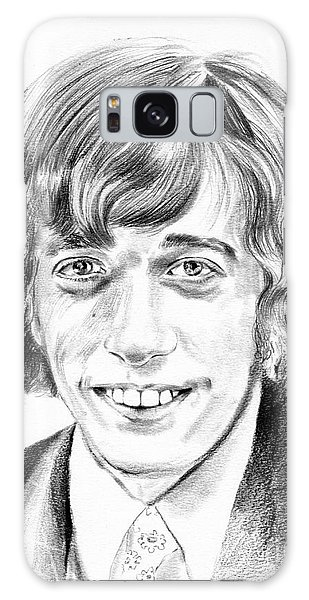 Indian Head Galaxy Case - Robin Gibb Drawing by Suzann Sines