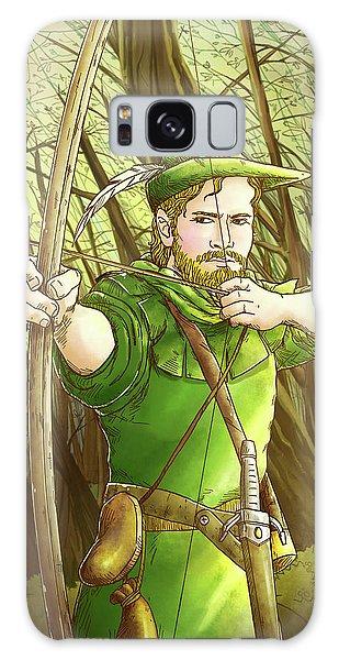 Robin  Hood In Sherwood Forest Galaxy Case