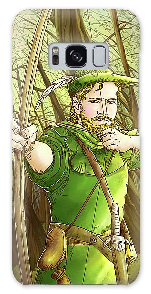 Robin  Hood In Sherwood Forest Galaxy Case