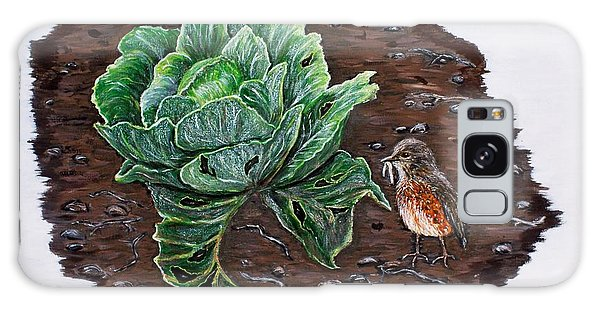 Robin In The Gardin Galaxy Case by Judy Kirouac