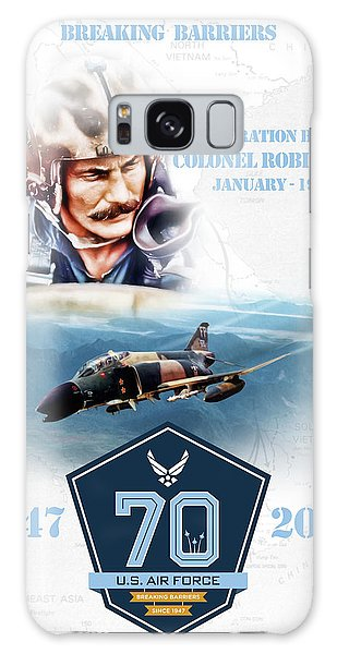 Tribute Galaxy Case - Robin Olds Breaking Barriers by Peter Chilelli