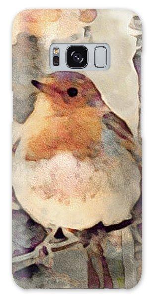 Song Birds Galaxy Case - Robin Song Of Spring by Susan Maxwell Schmidt