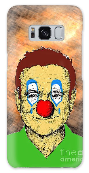 Robin Williams 1 Galaxy Case by Jason Tricktop Matthews