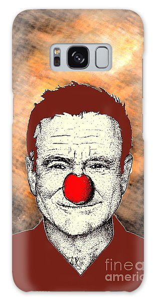 Robin Williams 2 Galaxy Case by Jason Tricktop Matthews