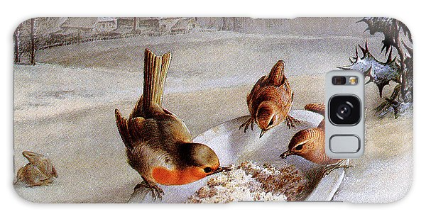 Robins And Wrens  Winter Breakfast Galaxy S8 Case