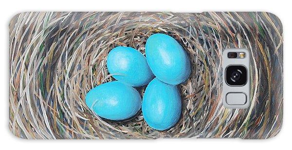 Robin's Eggs Galaxy Case