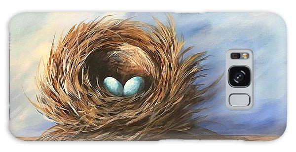 Robin's Two Eggs Galaxy Case