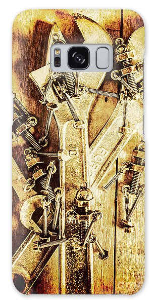 Industry Galaxy Case - Robolts by Jorgo Photography - Wall Art Gallery