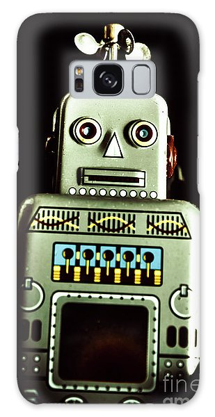 1950s Galaxy Case - Robotic Spaceman by Jorgo Photography - Wall Art Gallery