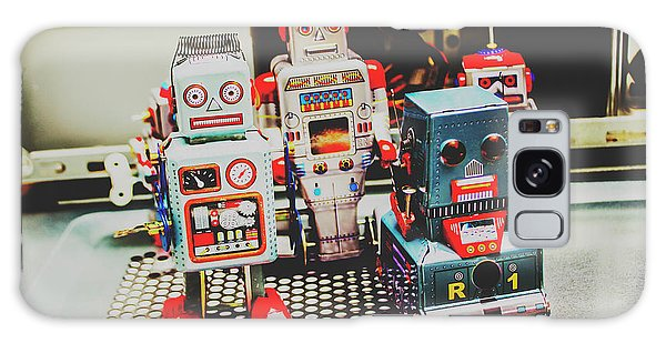 1950s Galaxy Case - Robots Of Retro Cool by Jorgo Photography - Wall Art Gallery