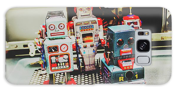 Robots Of Retro Cool Galaxy Case
