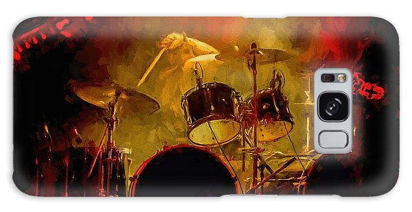 Rock And Roll Drum Solo Galaxy Case