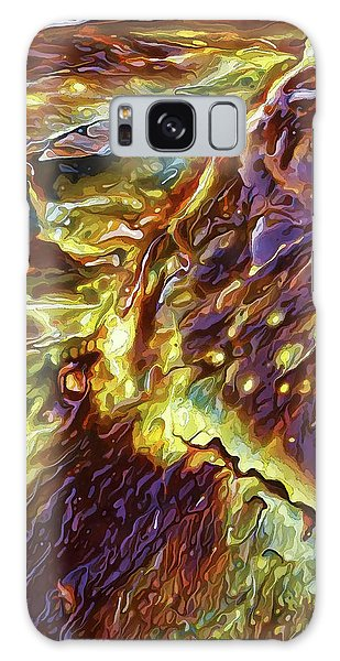 Rock Art 28 Galaxy Case