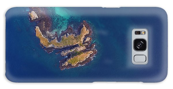 Galaxy Case featuring the photograph Rock Beach Island, Flores by Pradeep Raja PRINTS