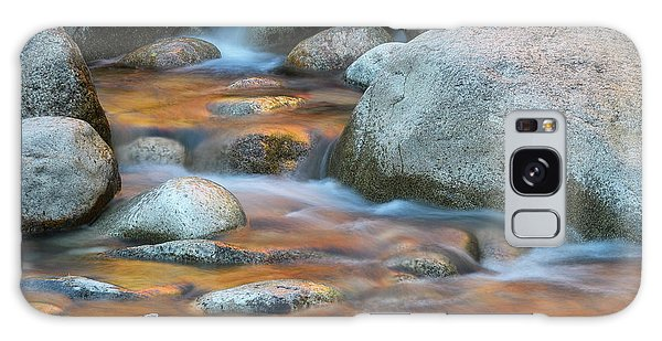 Galaxy Case featuring the photograph Rock Cave Reflection Nh by Michael Hubley