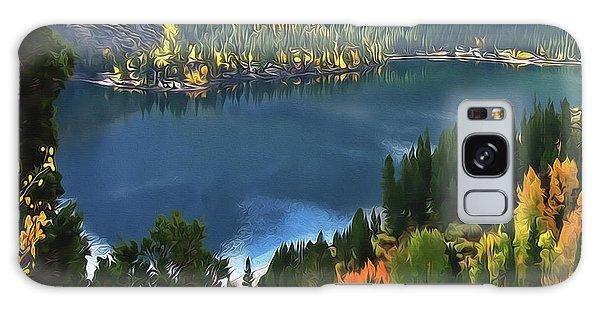 Rock Creek Lake In Fall Galaxy Case
