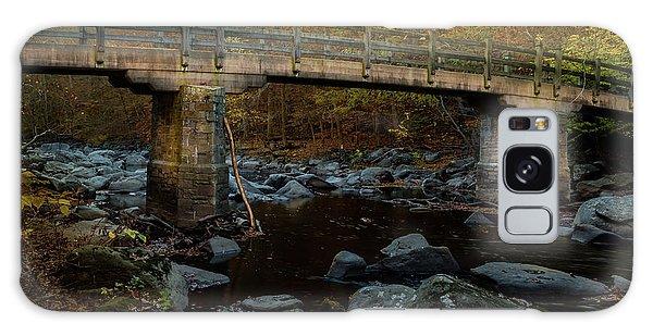Rock Creek Park Bridge Galaxy Case