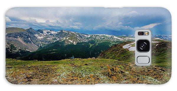Rock Cut 2 - Trail Ridge Road Galaxy Case by Tom Potter