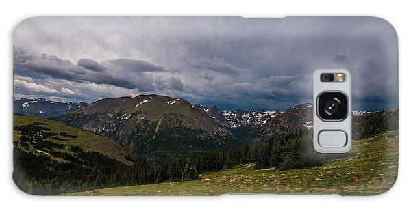 Rock Cut 3 - Trail Ridge Road Galaxy Case by Tom Potter