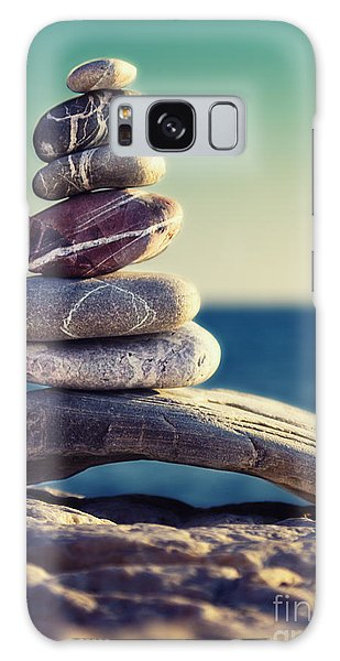 Sea Stacks Galaxy Case - Rock Energy by Stelios Kleanthous
