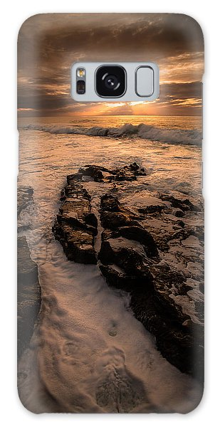 Rock Formations On The Shore Galaxy Case