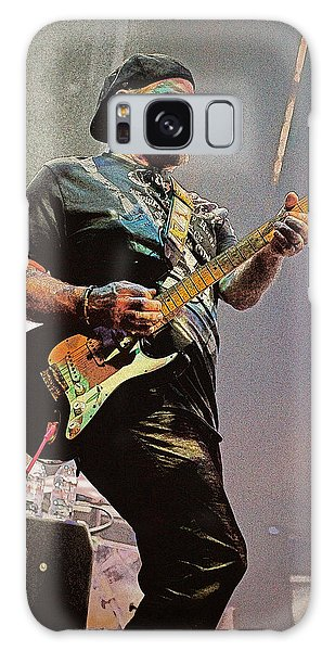 Rock Guitar Player Galaxy Case by Jim Mathis