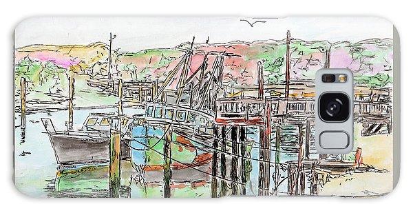 Rock Harbor, Cape Cod, Massachusetts Galaxy Case