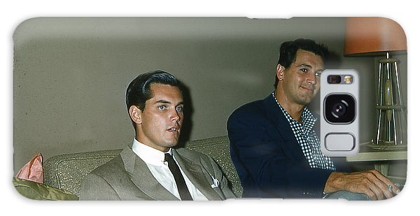 Rock Hudson And  Jeffery Hunter  Galaxy Case