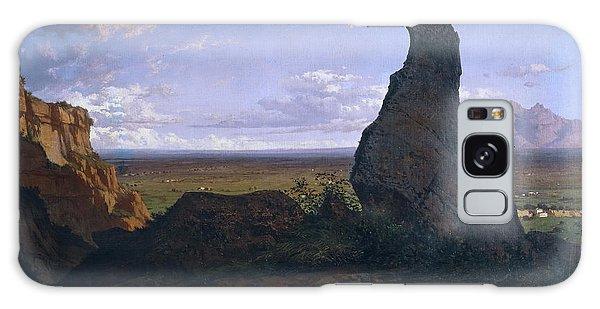 Strange Clouds Galaxy Case - Rock In Montserrat by Lluis Rigalt