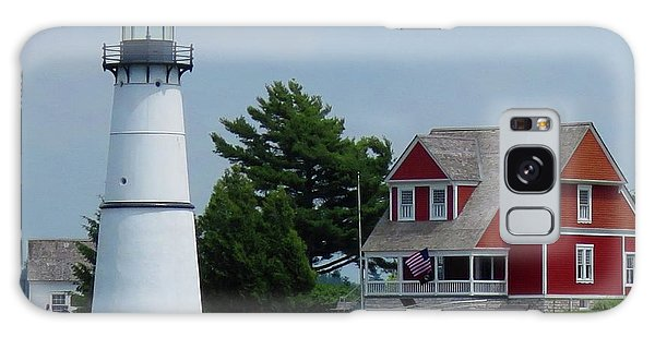 Rock Island Lighthouse July Galaxy Case