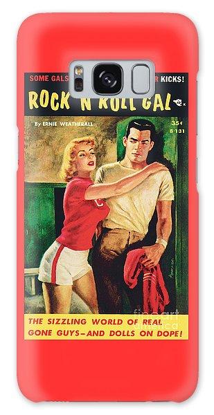 Rock 'n Roll Gal Galaxy Case