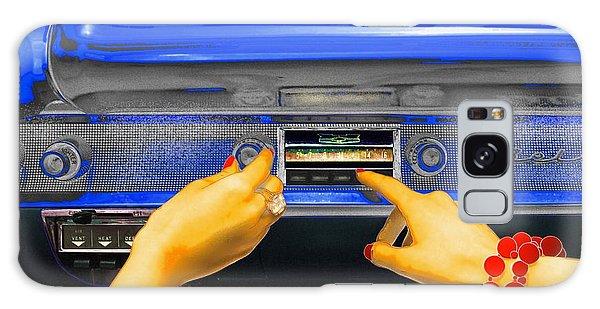 Rock N Roll Radio Galaxy Case
