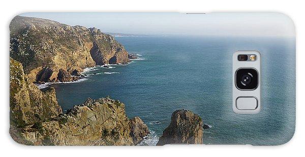 Rocks Near To Cabo Da Roca Galaxy Case