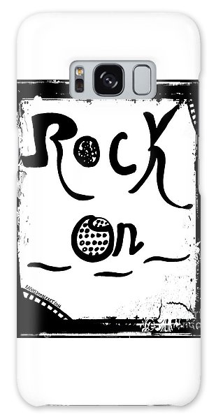 Rock On Galaxy Case