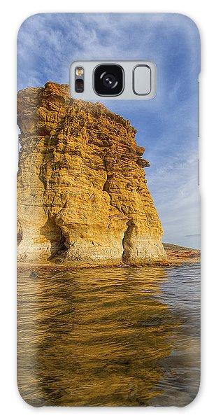Rock Pillar At Wilson Lake Galaxy Case