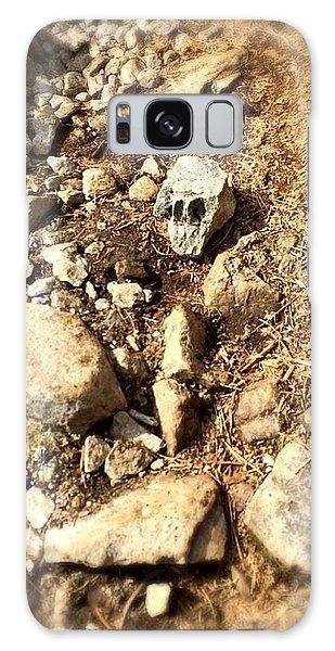 Rock Skull Galaxy Case